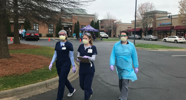 Matthews parking lot nurses