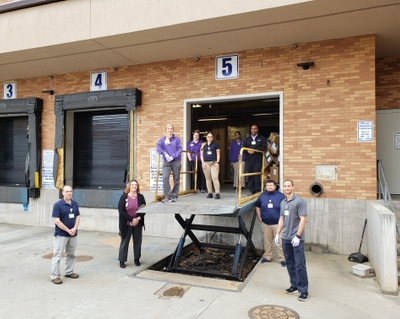 Novant Health athletic trainers join the supply chain team at Forsyth Medical Center