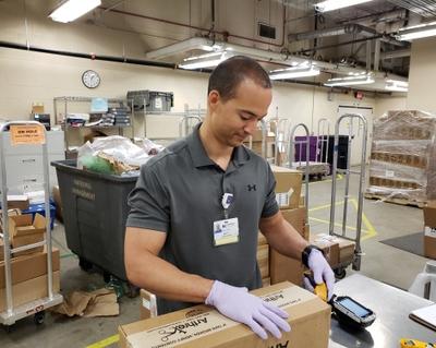 Matt Fortune at Novant Health Forsyth Medical Center