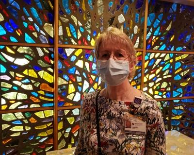 Sheree Jones chaplain at Novant Health Forsyth Medical Center