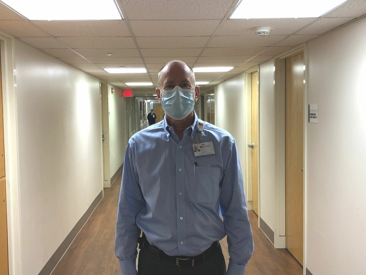 Walking the hospital halls with a chaplain during COVID-19