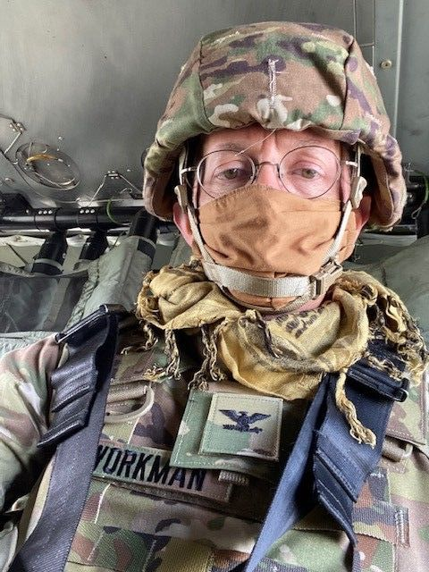 Ray Workman in Afghanistan