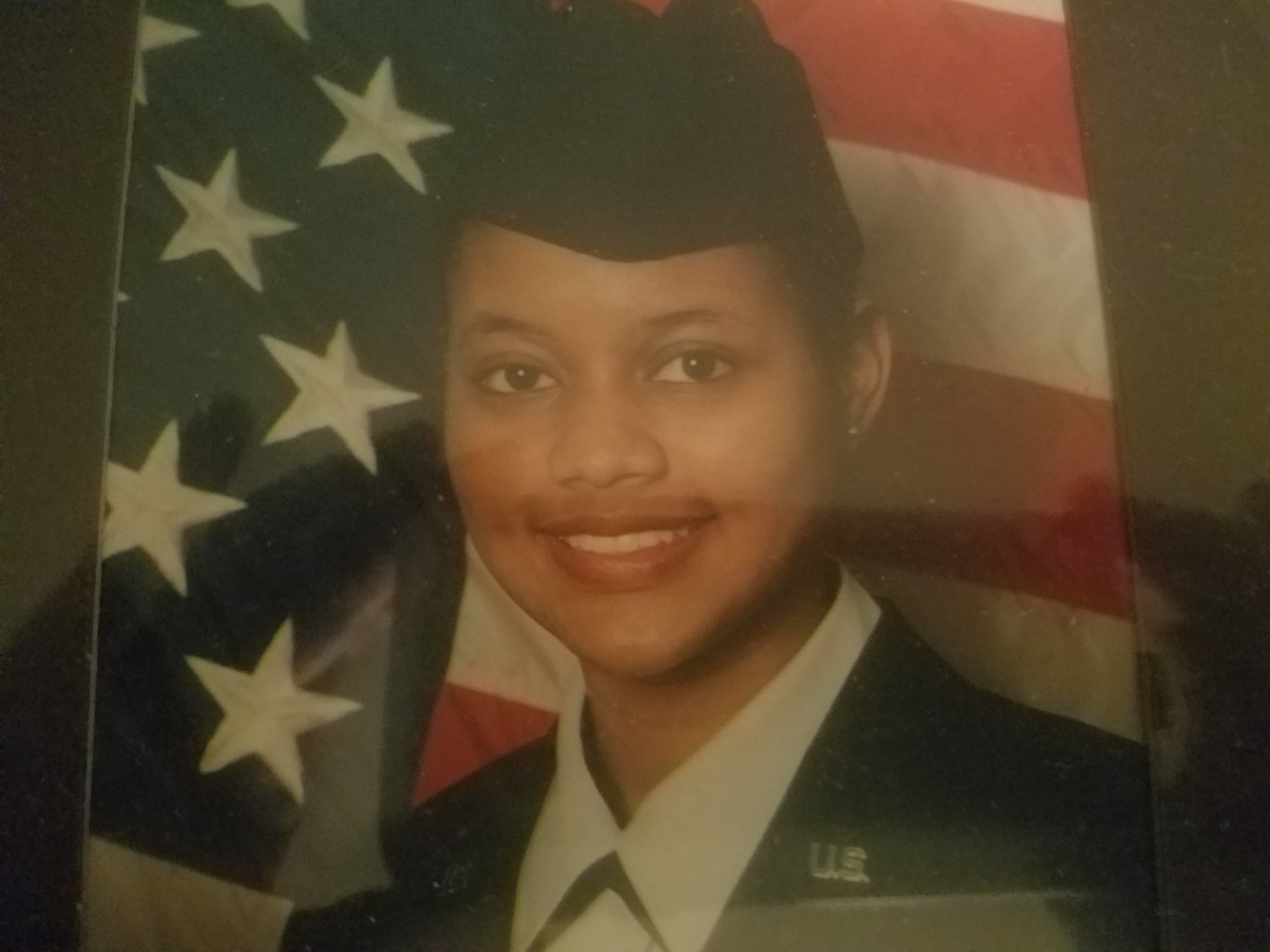 Dreamea Tate in uniform