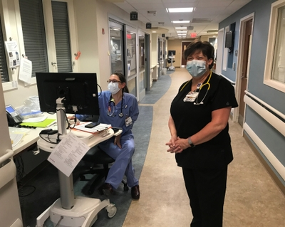 My job: Working to save you from COVID-19