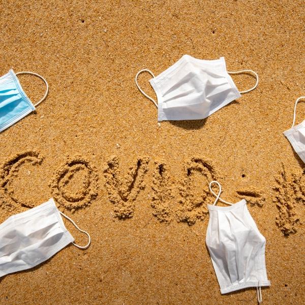 Covid-19 beach picture