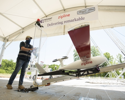 Novant Health launches drone operation for COVID-19 response
