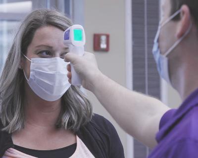 How screening helps keep everyone safe at Novant Health