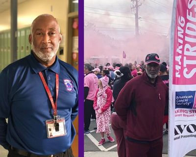 Even tough men can get – and survive – breast cancer