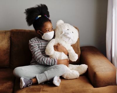 No, your child will not get CO2 poisoning from wearing a mask