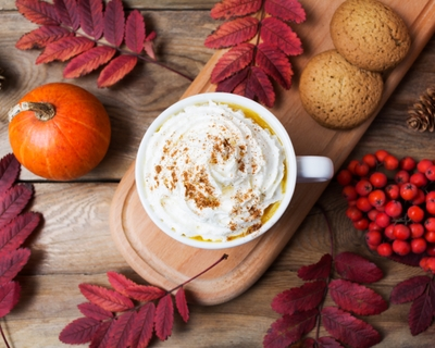 Here's how long it will take off to burn off that high-calorie fall treat