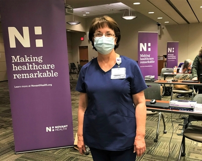 Nurse comes out of retirement to help fight COVID-19