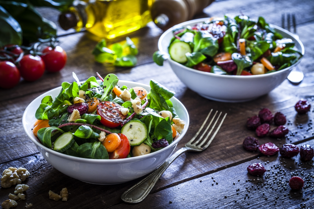 'Fried' fish and superfood salad are a winning combination