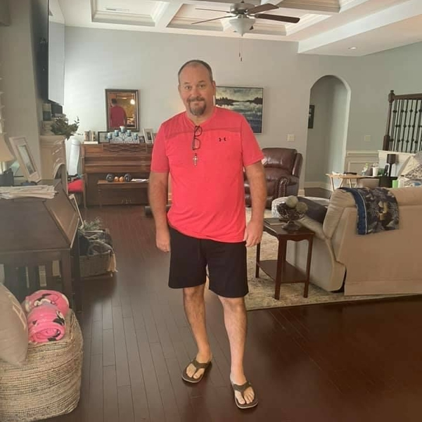 Slimmer Bryan Woodell after heart attack