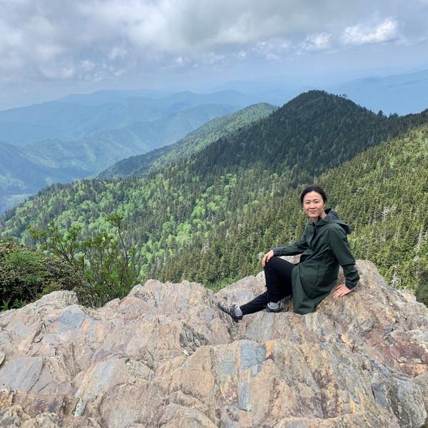 Tracy Shen mountain