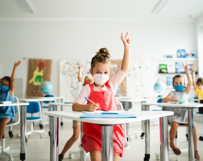 Children now make up more than 25% of COVID-19 cases in the United States