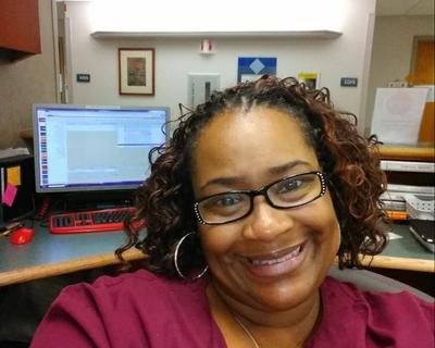 Hospital receptionist has endured COVID like few others