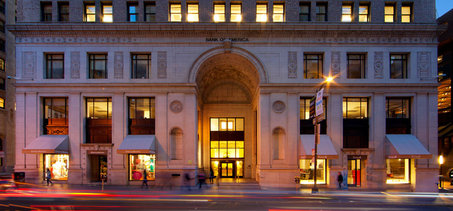 The historic building at 315 Montgomery Street in San Francisco will be the new headquarters for the Blue Shield of California Foundation