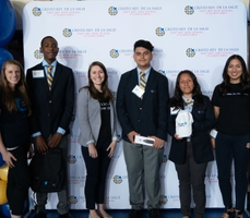 Blue Shield Welcomes Four Work/Study Students From Oakland's Cristo Rey