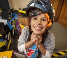 Blue Shield Vets Build Bikes, Make Smiles For Kids of Service Members