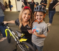 VIDEO: Blue Shield Veterans' Bike Build for Kids of Blue Star Families