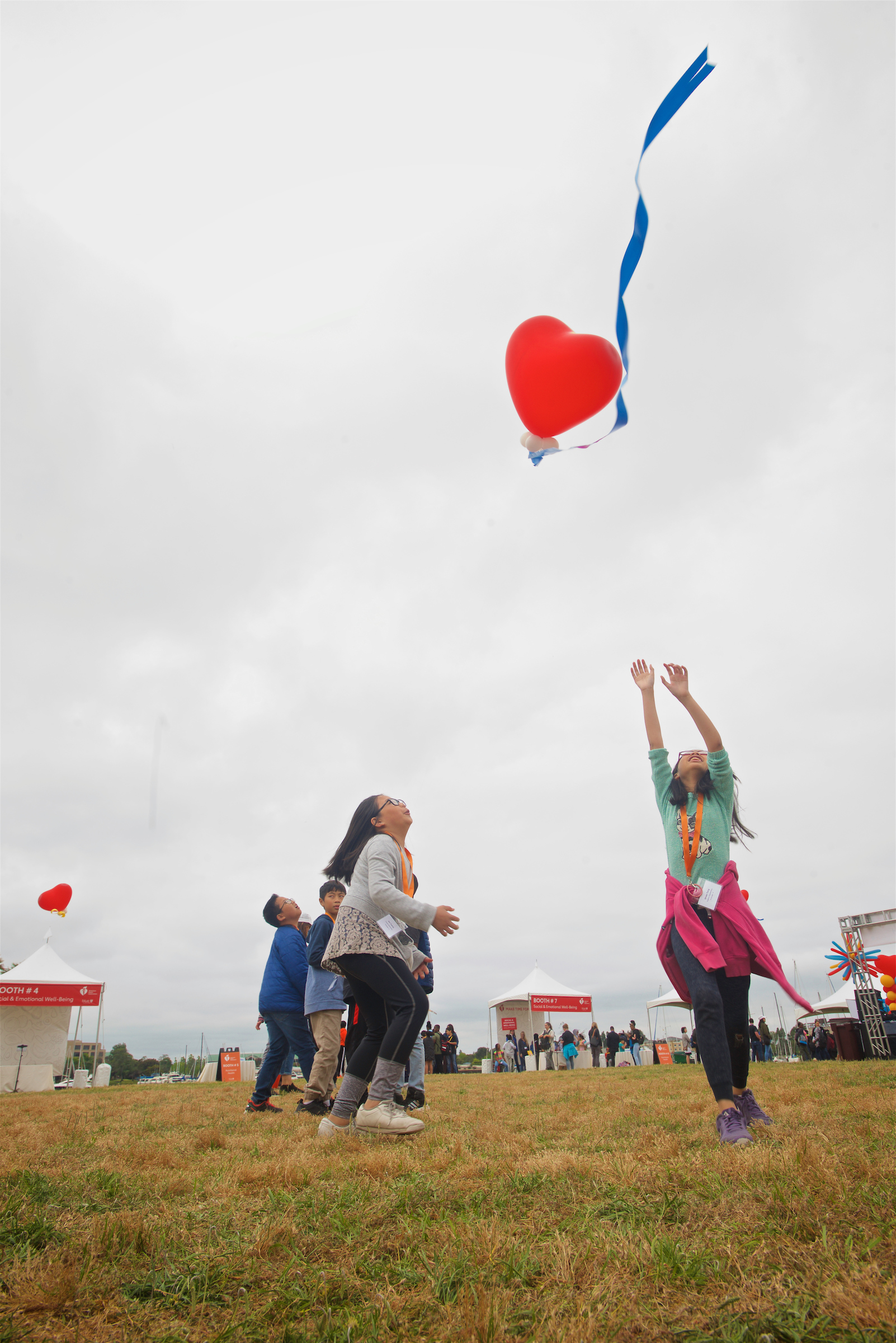 2019 Make Time for Health girls chasing heart balloon - Copy