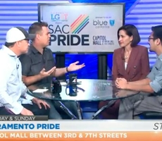 In the News: Shayna Schulz and Lanz Nalagan Talk About Blue Shield's Participation Sacramento's Pride Events