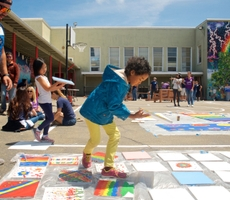 KaBOOM! Blue Shield Builds, Unveils Playground in Oakland