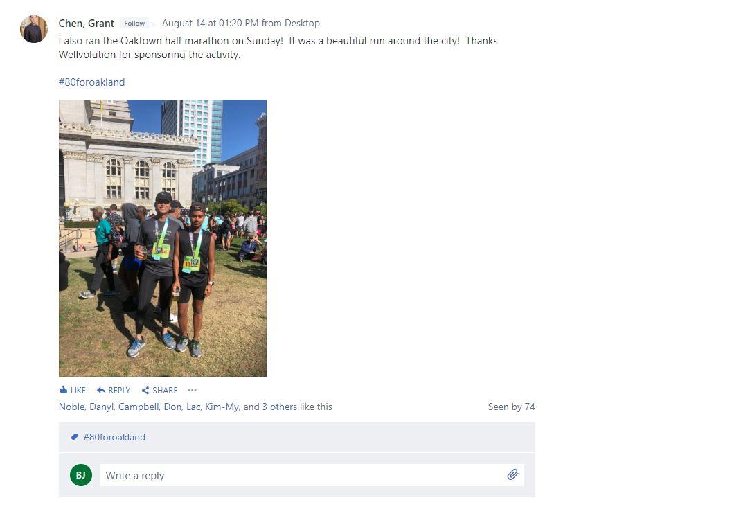 Grant Chen 2 marathon