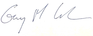 Gary Cohen signature