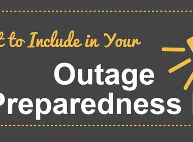 What to Include in Your Outage Preparedness Kit