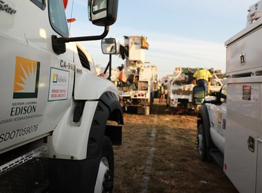 SCE Crews at the Ready for Series of Winter Storms