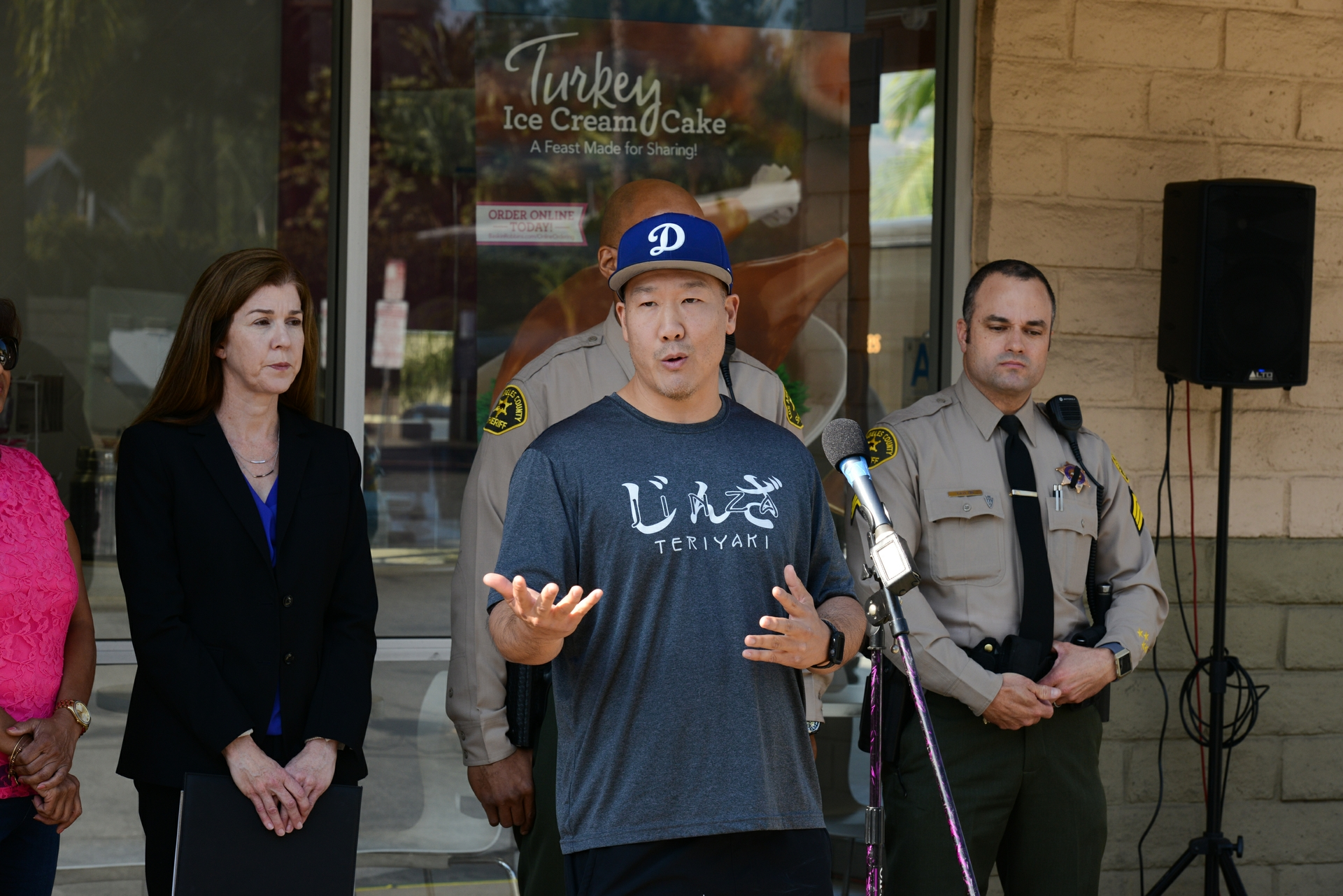 John Lee, owner of Jinza Teriyaki in Pomona, has been targeted by scammers who demanded immediate payment for a false late bill with a prepaid cash card.