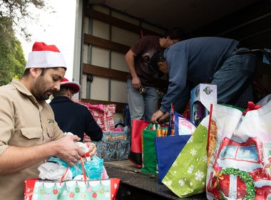 Gift Giving Fosters Joyful Season