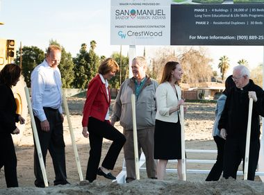 All-Electric Housing for Homeless Breaks Ground in San Bernardino