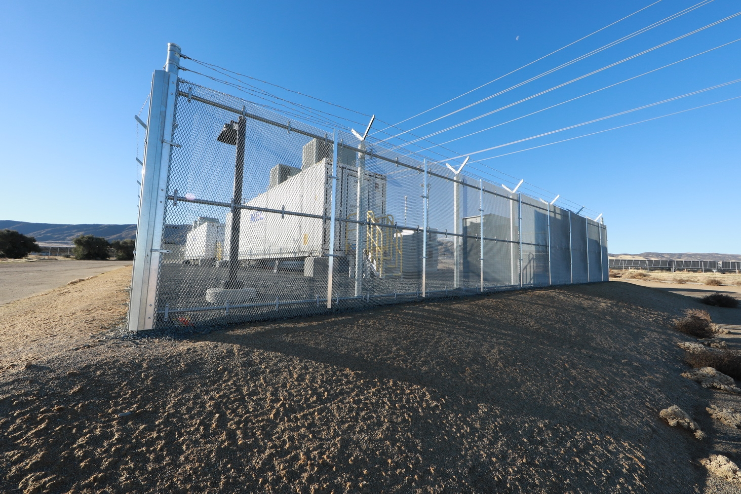 Lancaster's Connolly Energy Storage System stores solar energy for later use.
