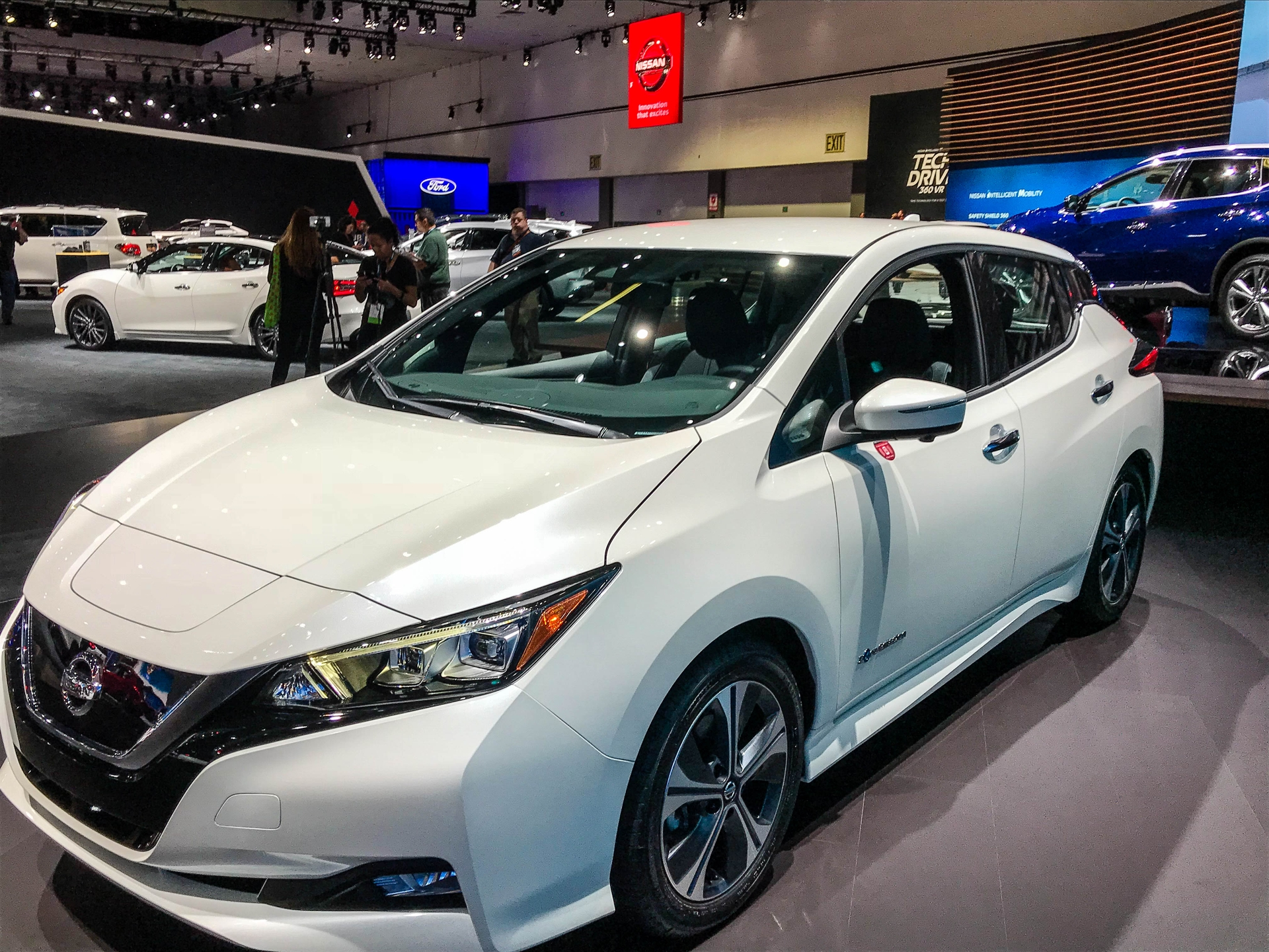 Nissan is offering a $3,500 rebate for SCE residential customers.
