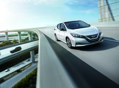 $3,500  Rebate Extended on a New Nissan LEAF