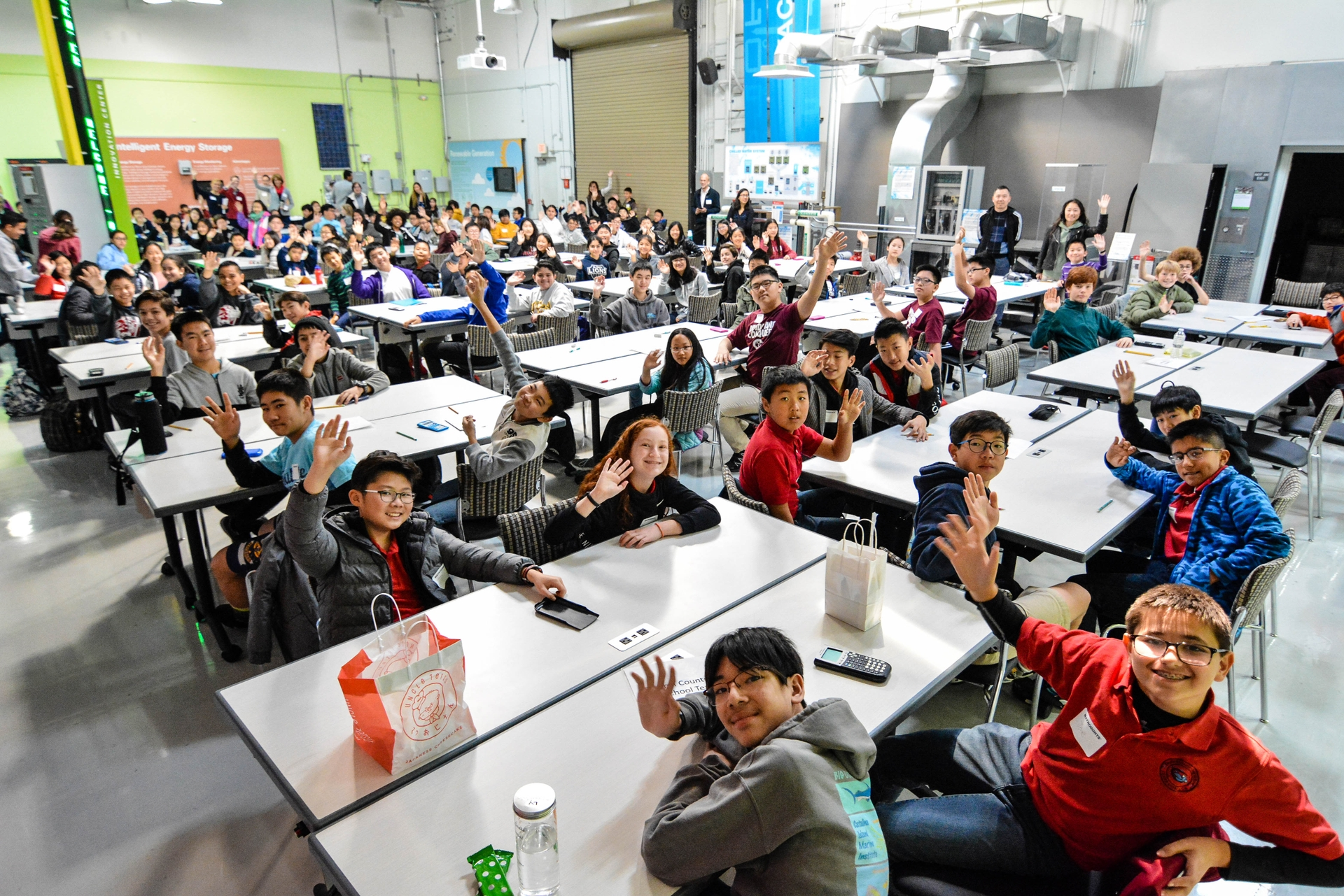 More than 100 middle school students from the San Gabriel Valley competed in this year's MATHCOUNTS chapter math competition.