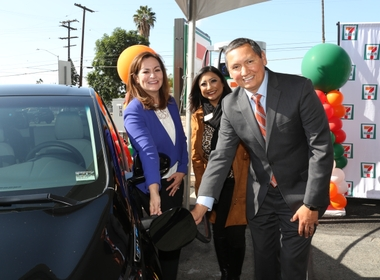 EV Drivers Can Now Get a Fast Charge With a Slurpee at Pomona 7-Eleven