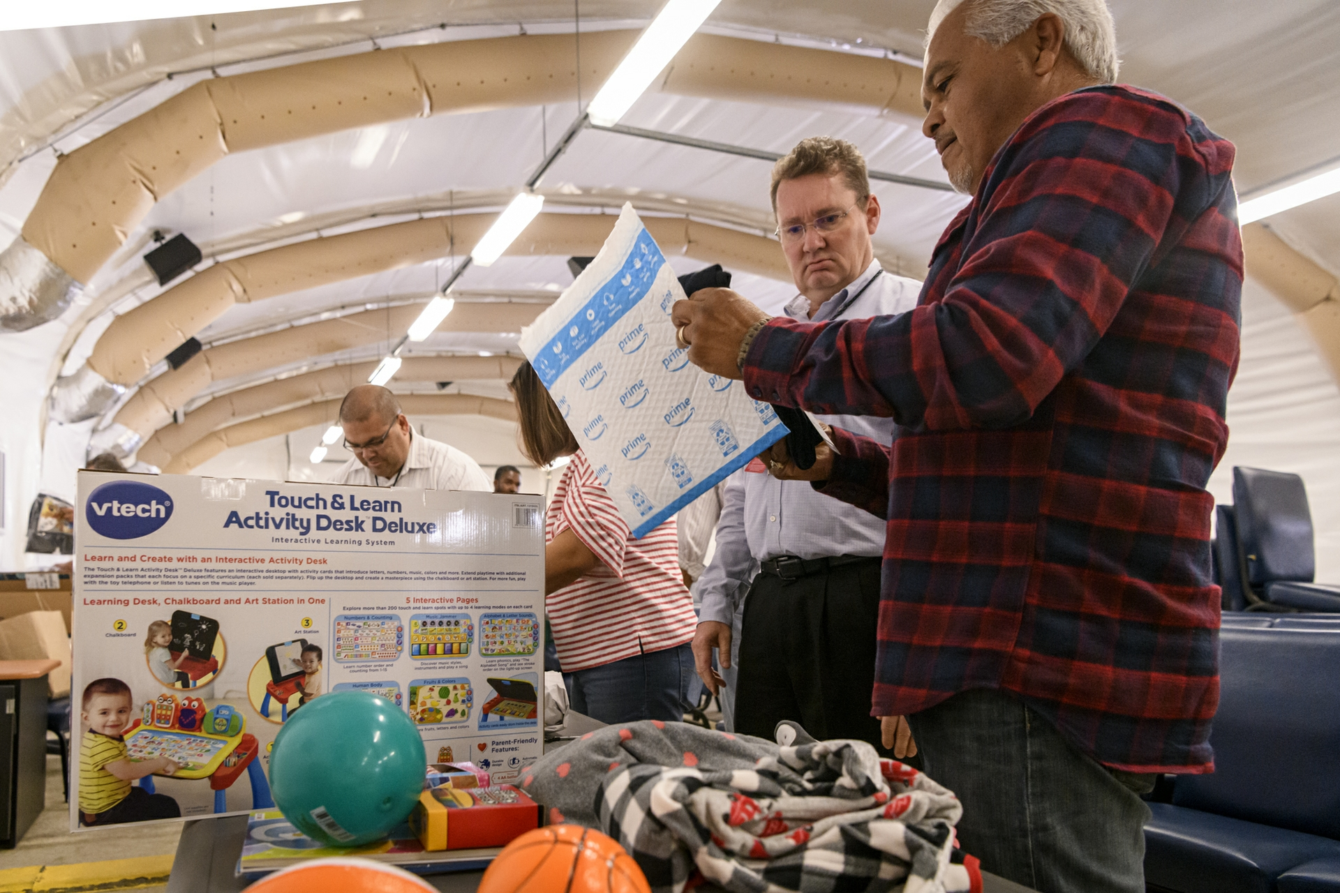 Hundreds of SCE employees donated gifts to the Armed Services YMCA at Camp Pendleton.