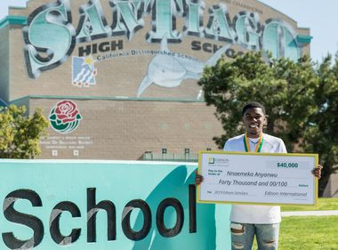 Collegiate Dreams Come True for Edison Scholars