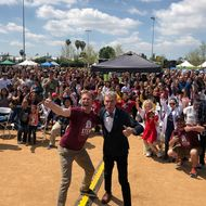 Over 10,000 people attended the City of STEM Science Festival.