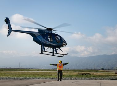 Helicopter Pilots Learn to Fly Safely Around Electrical Wires