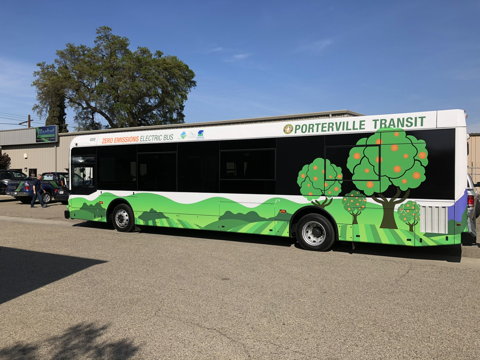 Porterville Transit took part in SCE's Charge Ready Transport pilot.