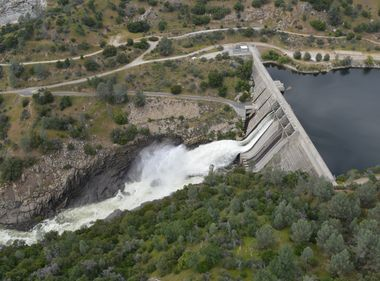 Winter Snowmelt Begins Filling SCE's Reservoirs