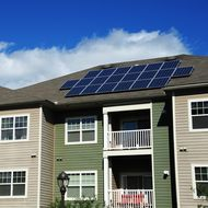 Qualified customers can receive solar energy through the state's new Solar on Multifamily Affordable Housing program.