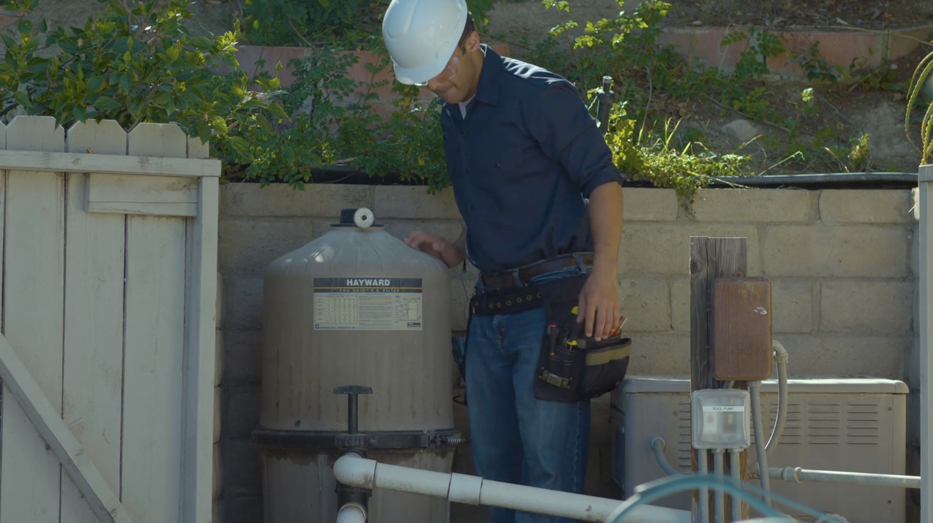 Licensed electricians and pool contractors can spot and fix problems like faulty pool lighting, faulty or nonexistent ground fault circuit interrupters and incorrect wiring and bonding.