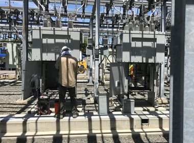 SCE Crews Continue Repairs at Damaged Substation