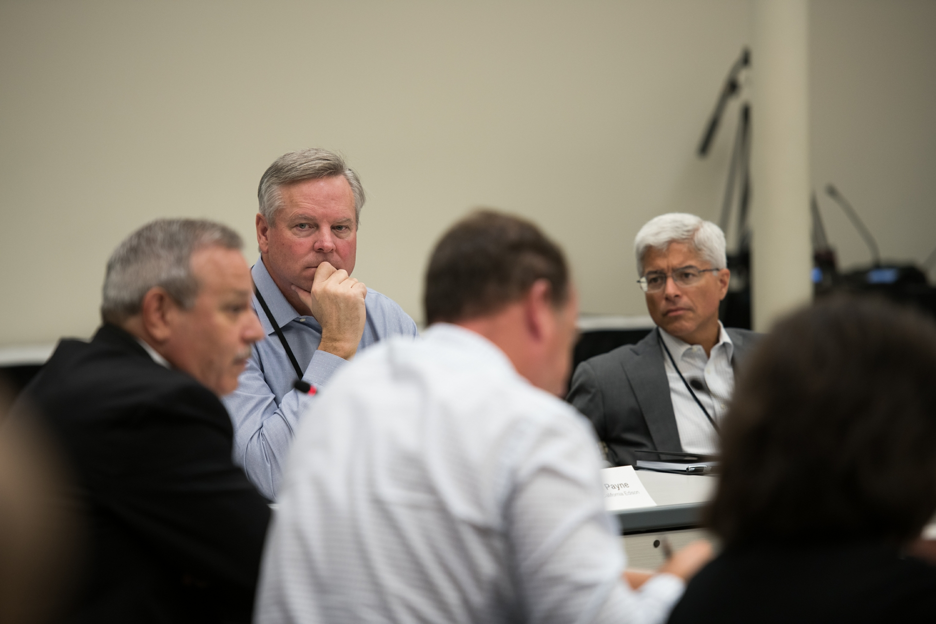 SCE President and CEO Kevin Payne and Edison International CEO and President Pedro Pizarro joined local, state and federal officials in a roundtable discussion to talk about the impacts a quake could have on the region.