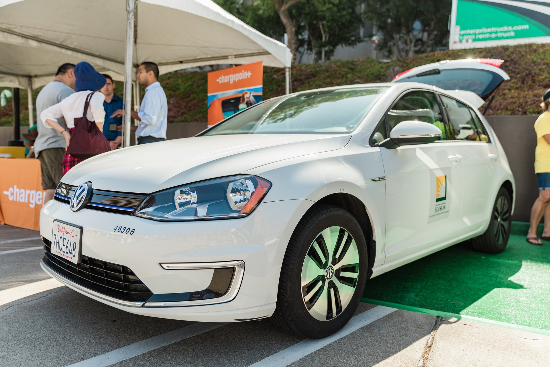 At Charge Up LA!, attendees will be able to test drive the latest model electric cars and talk to EV owners about their emission-free driving experience.